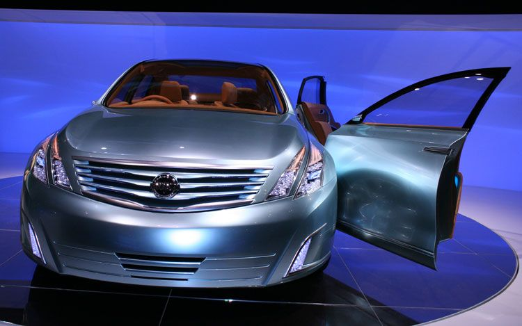 World Automotive Collection Nissan Intima Concept