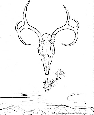 o coloring page  ... keeffe coloring page