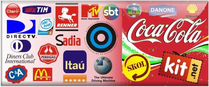 Logotipo de empresas famosas