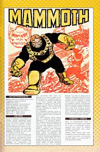 Ficha DC Comics Mamut
