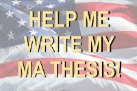 I'm mastering in American studies:
