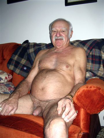hairy grandpa - older gay men free pics - hairy oldermens dick