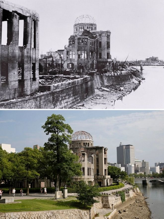 Hiroshima Then And Now You Won't Believe What It Looks Like Today! - The Hiroshima Peace Memorial