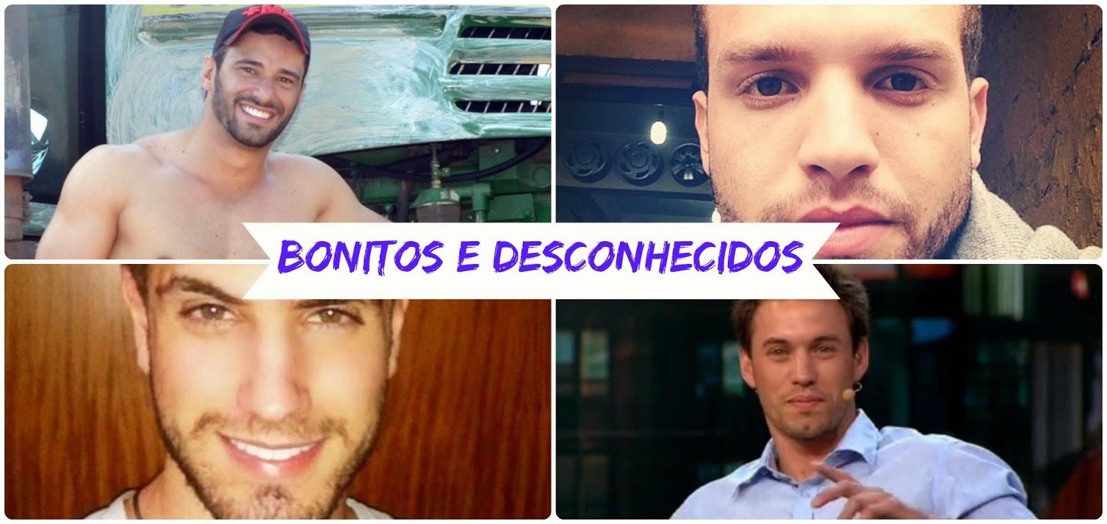 Homens atraentes, bonitos e gostosos