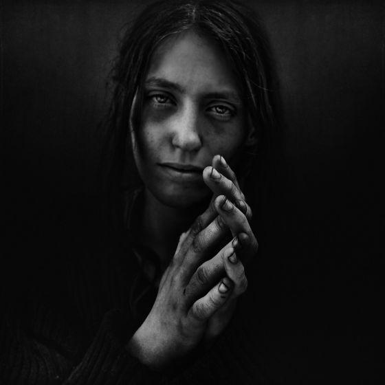 Lee Jeffries fotografias de mendigos