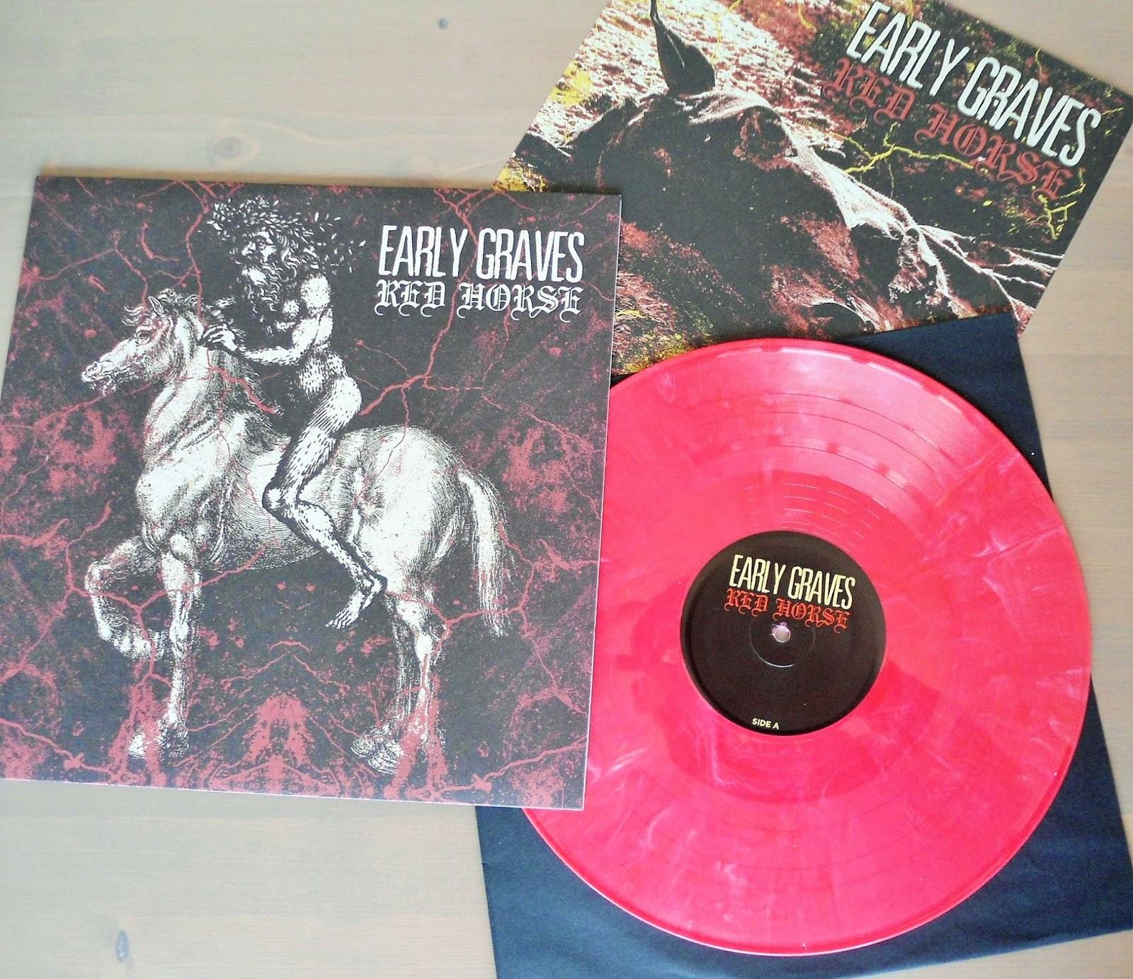 Hardcore Metal Vinyl Early Graves Red Horse