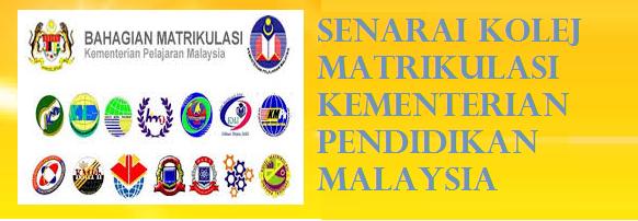 alamat dan lokasi Kolej Matrikulasi Kementerian Pendidikan Malaysia
