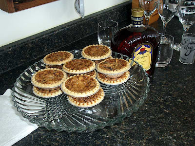 Only the best is good enough for our guests. Crown Royal and butter tarts, mmm…