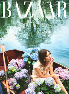 Fashion Model, TV Host @ Alexa Chung for Harper's Bazaar UK, July 2015