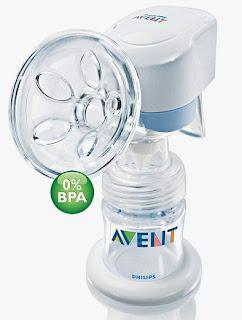 Máy hút sữa bằng điện Avent