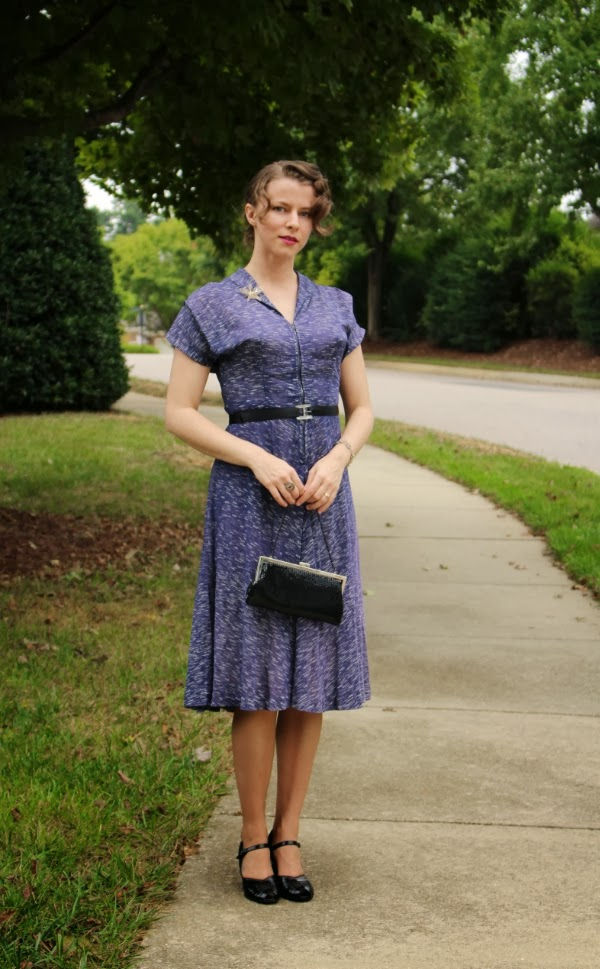 1940s Swing Style #vintage #fashion #1940s #swing #dress