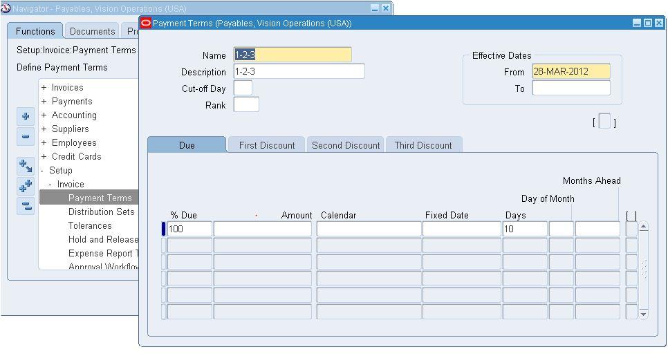 Oracle Apps Knowledge Hub: Oracle AP Invoice Setup