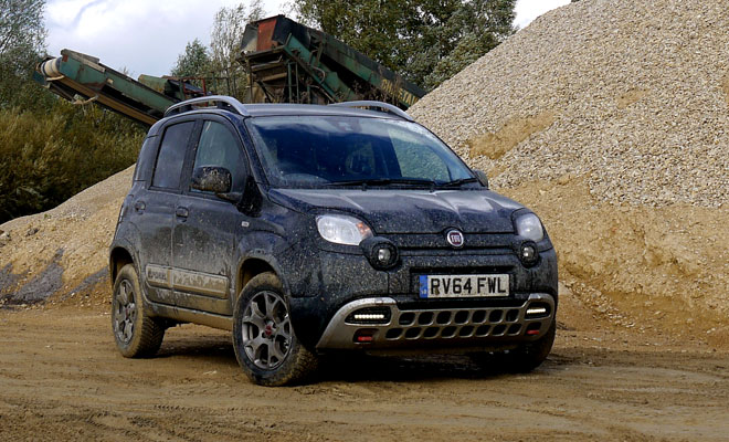 Fiat Panda Cross TwinAir front view