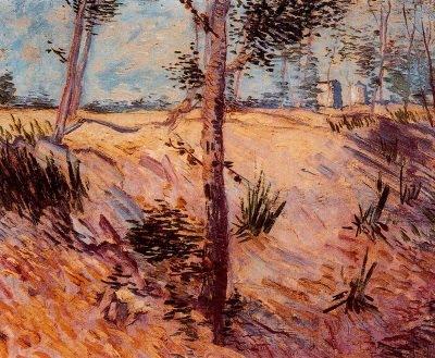 Troncs a la llum del sol (Vincent Van Gogh)