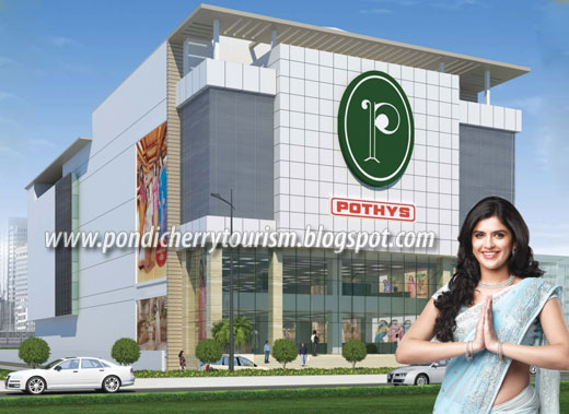 Pondicherry Pothys Anna Salai Showroom