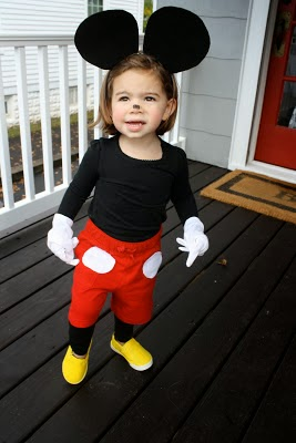Disfraz casero Mickey Mouse