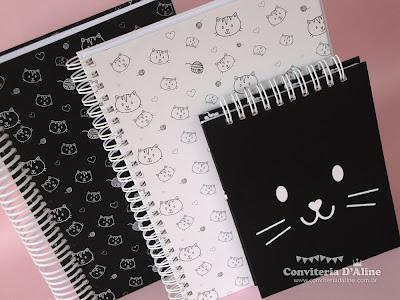 cadernos e blocos personalizados para presente