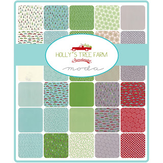 Moda HOLLY'S TREE FARM Fabric by Sweetwater for Moda Fabrics