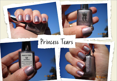 princess tears aengland nails uñas nail polish esmaltes