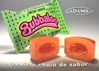 Propaganda do Bubbaloo Melancia apresentado na metade dos anos 90.
