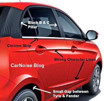 Tata Bolt Side Profile Review