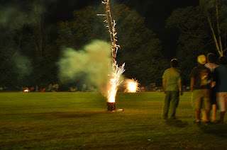 Fireworks/Fire Crackers not legal if permission not seek from authorities