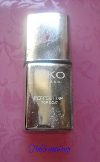 kiko perfect gel duo top coat