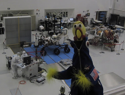 Camilla in the clean room
