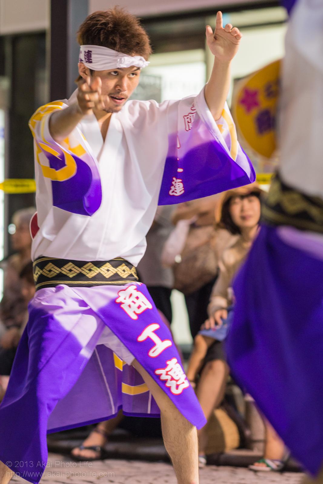 三鷹阿波踊り、三鷹商工連の男踊り