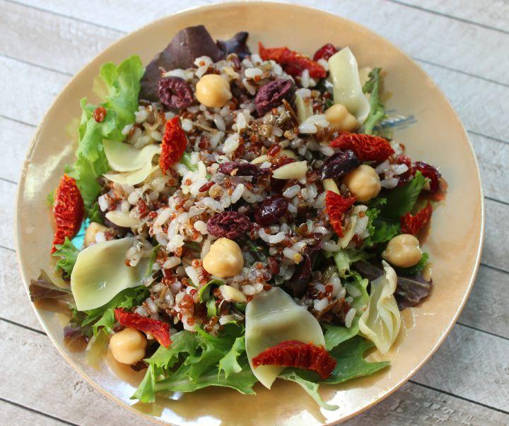 Suddenly Grain Salad Harvest Grains finished recipe