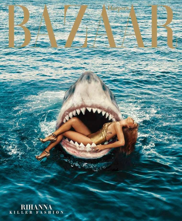 Rihanna Killer Fashion Harper's Bazaar editorial
