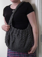 Grey cable bag