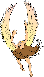 Flying Angel Free Fantasy Clipart
