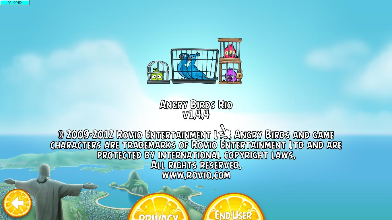 Angry Birds Rio 1.4.4 - Mediafire