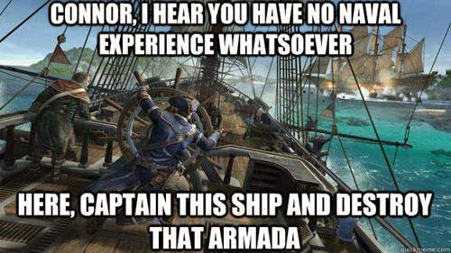 video game logic fail
