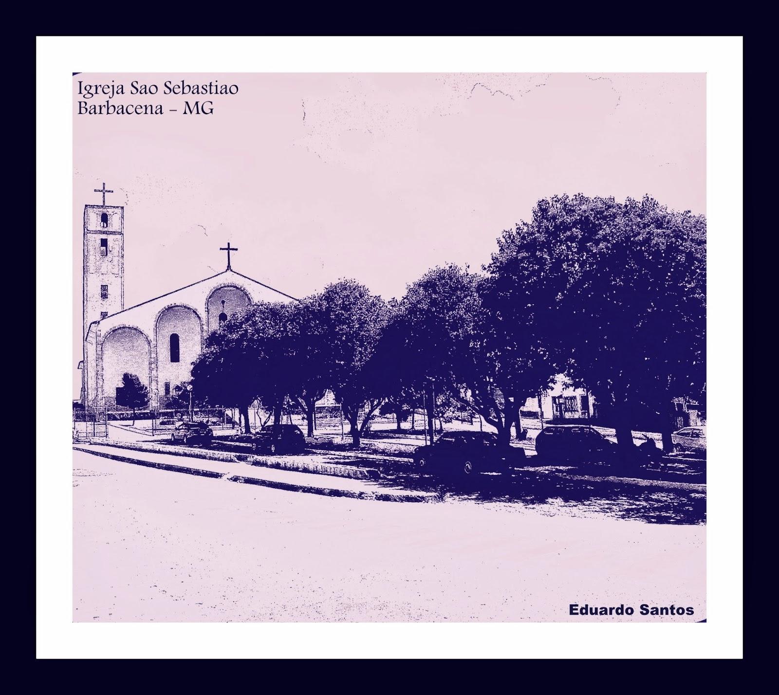 Igreja de São Sebastião de Barbacena MG