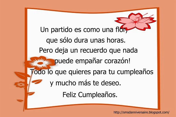 sms joyeux anniversaire en espagnol