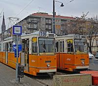 Будапешт Трамваи Budapest Trams