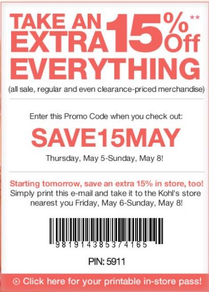 printable coupons 2011. KOHLS PRINTABLE COUPONS 2011