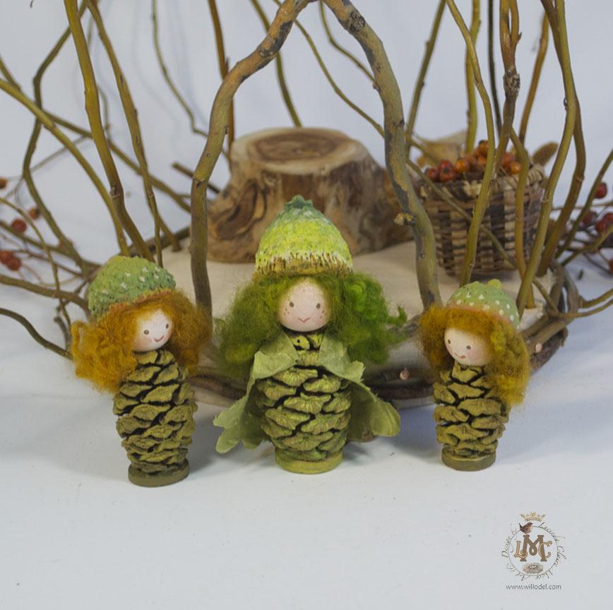 Spring Acorn gnomes