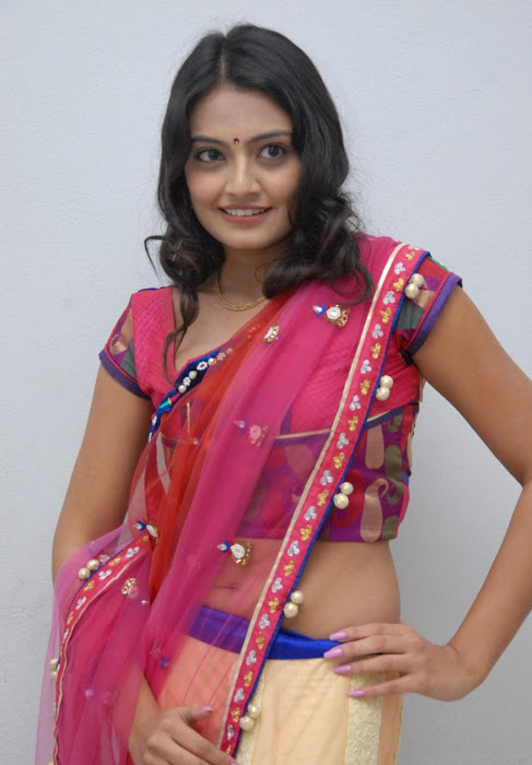 nikitha narayan in saree