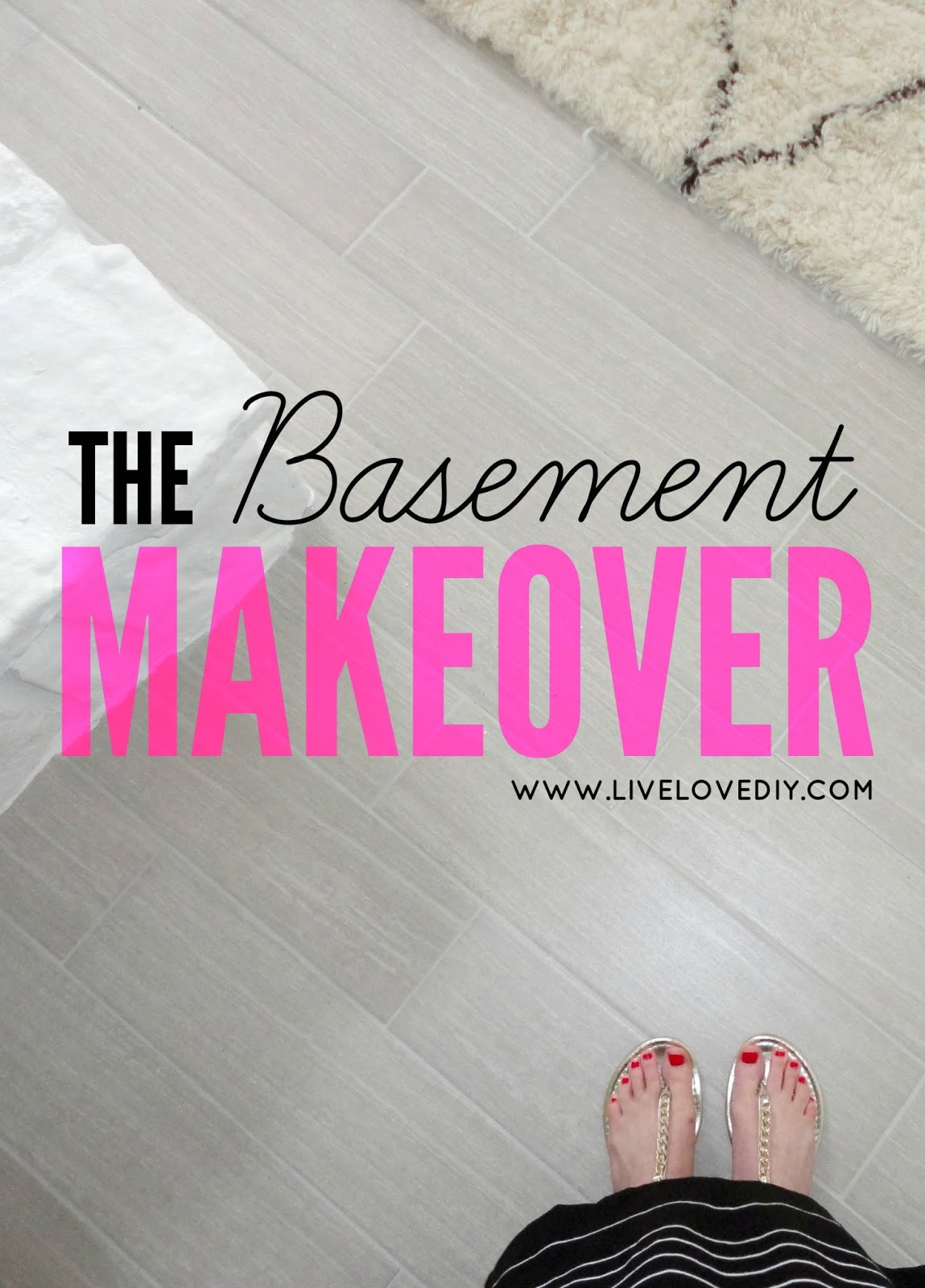 Our 1970u0027s House Makeover: The Basement Makeover Is FINALLY Done!