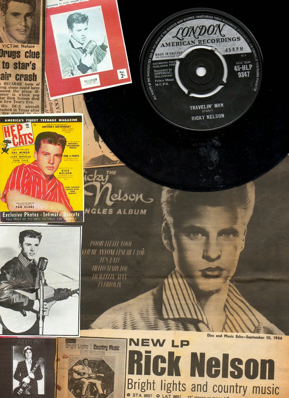 Eight Miles Higher: Music Retrospective: RICKY NELSON