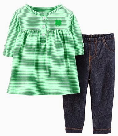 St Patricks Day Baby Clothes