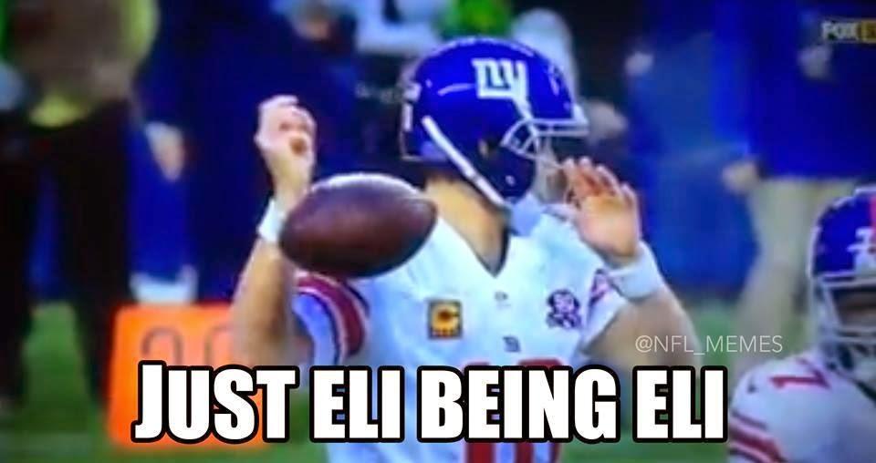 just eli being eli - #GiantsHaters #Eli