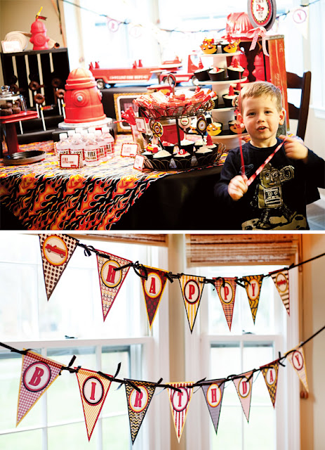 Fire Truck Birthday Party Supplies