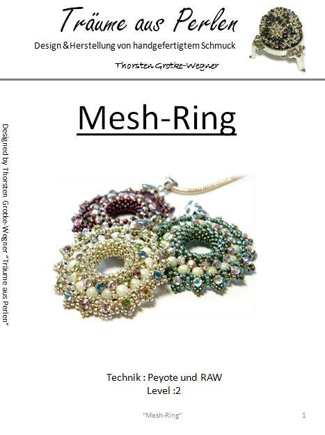 Anleitung Mesh Ring