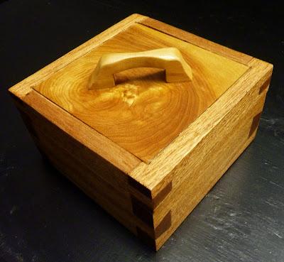 Juneau-Douglas High School Woodworking: Hand Cut Dovetail Box
