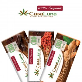 High CBD Medical Marijuana Chocolate Casa Luna Edibles