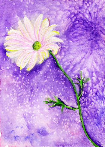 Flower, Watercolor
